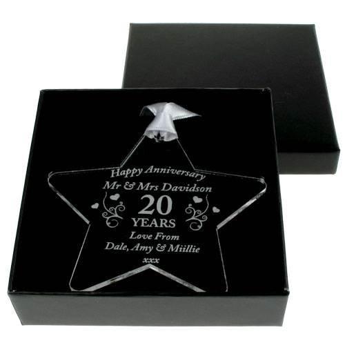 China Wedding Anniversary Gift 20th Gifts Personalised Mum