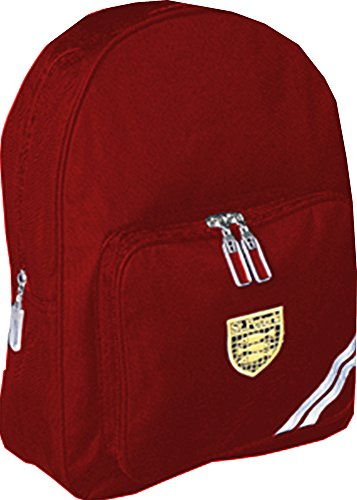 NEUF Unicol ENFANT SAC À DOS ENFANTS DEVOIRS école livres sac de transport Sac à dos Rouge