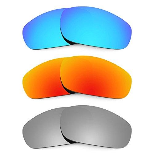 Revant Ersatzlinsen für Oakley Fives (2009) Polarisiert 3 Paar Kombipack K014