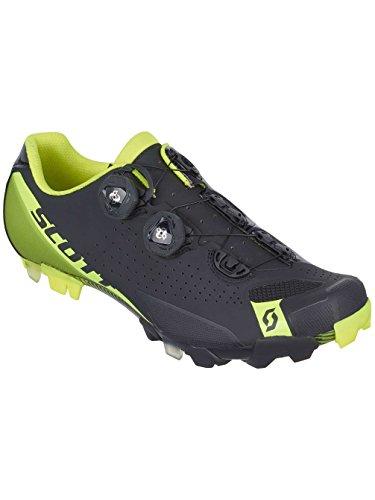 Scott rC vTT chaussures 2016 vélo noir/jaune Noir - Noir/jaune fluo