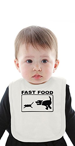 fast-food-cat-and-mouse-funny-organic-bib-with-ties-medium