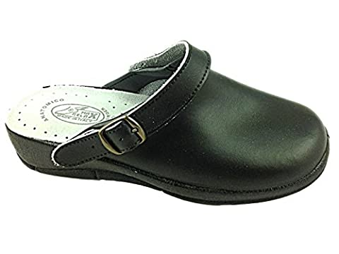 Foster Footwear , Sandales Compensées femme - noir - Black/Strap, homme 44 EU
