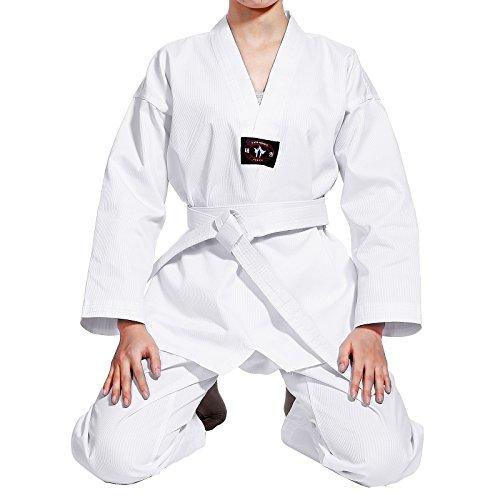Neu Kinder Karate Anzug Renshu Taekwondoanzug kampfsport Anzug bis 160?