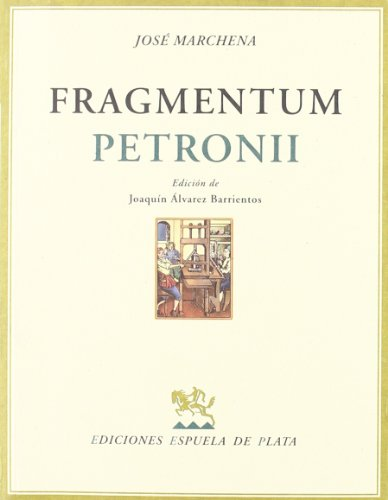 Fragmentum Petronii Cover Image
