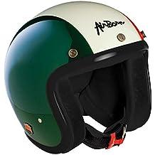 981abce00624e Amazon.es  casco jet vintage - Verde