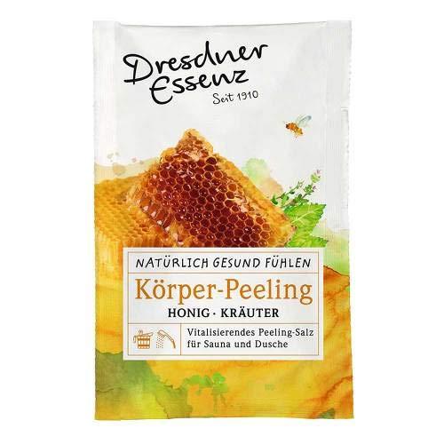 Kräuter-bad-pulver (DRESDNER Essenz Körper-Peeling Honig Kräuter 50 g Pulver)