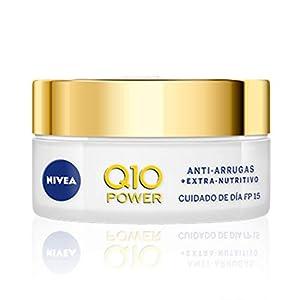 NIVEA Q10 Power Antiarrugas Crema de Día Extra-Nutritiva, crema facial antiarrugas con coenzima Q10 y aceite de argán…