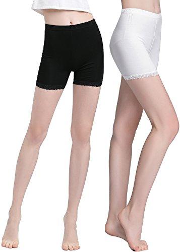 Vinconie Blickdichte Leggings Für Damen Capri Hose Leggings Unterwäsche Dessous (Pants Womens Capri Spandex)