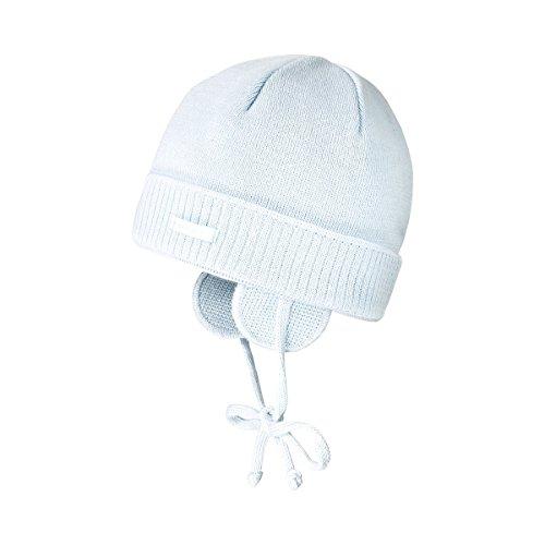 MAXIMO Erstlingsmütze Baby-Kopfbedeckung, Größe 47, blau