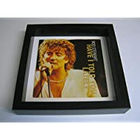 """Rod Stewart - Have I Told You Lately (F) - Wall Framed 7"""" Vinyl Record Sleeve"""
