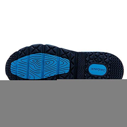 Onemix Air Sneaker Herren Damen Laufschuhe Sportschuhe Luftpolster Turnschuhe Blau