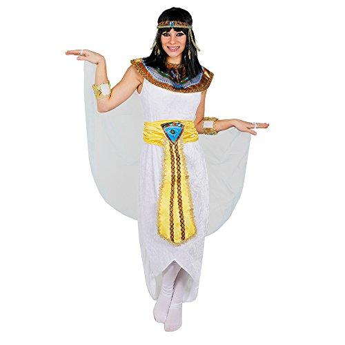 KÖNIGIN DES NIL ÄGYPTEN PHARAONIN KOSTÜM=VON ILOVEFANCYDRESS®=, KLEOPATRA VERKLEIDUNG ERHALTBAR IN 5 GRÖßEN=TOLL FÜR JEDE CÄSAR ODER GÖTTIN DES NILS KOSTÜMIERUNG AN FASCHING UND KARNEVAL=KOSTÜM IN DER GRÖßE (Kostüme Göttin Erwachsene Nils Des)