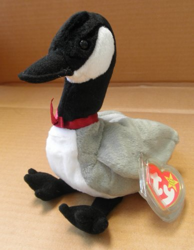 TY Beanie Babies Loosy the Goose Stuffed Animal Plush Toy - 8 inches tall by Smartbuy