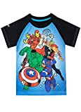 Marvel Jungen Avengers T-Shirt Blau 122