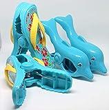 Strandtuch Clips Boca Stil - Zwei Paar Flip Flops und Delfine