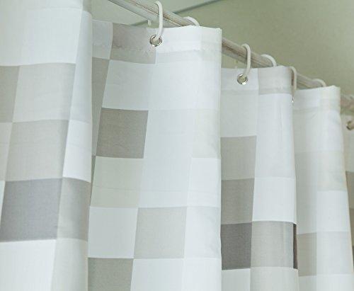 Tende Da Doccia In Lino : Sfoothome tenda doccia in tessuto di poliestere impermeabile