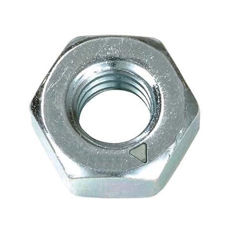 Clarik M14 Hex Full Nuts Zinc Plated Grade 8.8 Pack Of 25