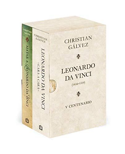 Leonardo da Vinci. 500 años (edición estuche con: Matar a Leonardo da Vinci | Leonardo da Vinci -cara a cara-) (BEST SELLER) por Christian Gálvez