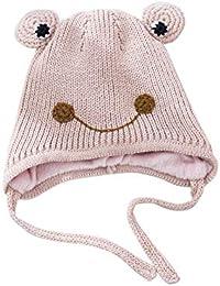 Oddity cappello cuffia da paraorecchie per bambini cappello A maglia A  Forma di Rana Lindo cappello 89fe71efab31