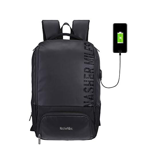 Nasher Miles Mardol Black Laptop Backpack 32 L