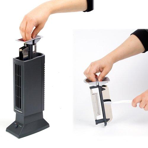 tevigo luftreiniger ionisierer luft ionisierer perfekt f r allergiker raucher und auch bei. Black Bedroom Furniture Sets. Home Design Ideas