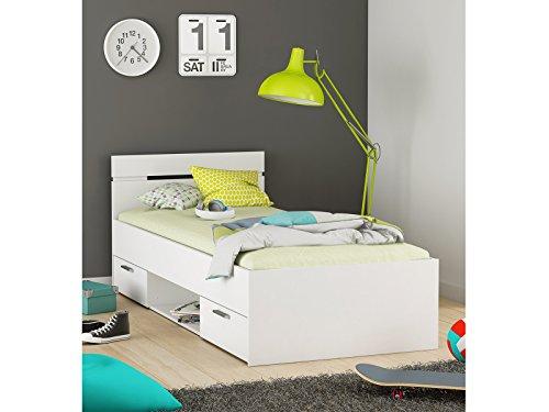"Kompaktbett Einzelbett Bettgestell Bett Bettrahmen Funktionsbett ""Lorenzo II"""