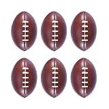 BESTOYARD 6pcs Balles de Mousse Ballon de Rugby Peitits Ballons Jouet pour Bebe Enfant Animaux