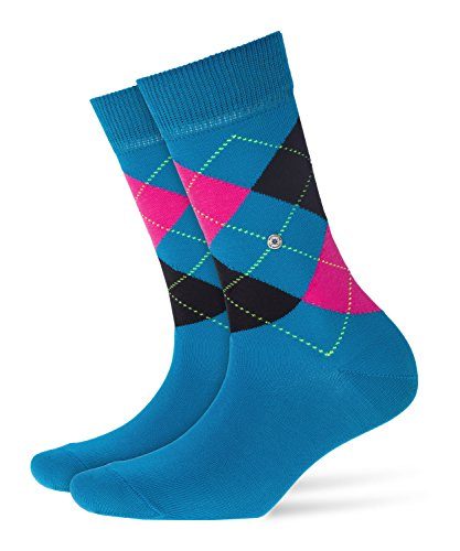 Burlington Damen Socken Queen, Violett (Turkish Tile 6832), 36/41