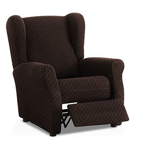 Preisvergleich Produktbild Bartali Stretch Sesselhusse Relax Olivia - Farbe Braun - Standard Maß (Kontaktieren Sie Uns für weitere Informationen)