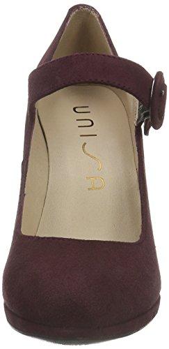 Unisa - Pacos_ks, Scarpe col tacco Donna Rosso (Rot (Grape))