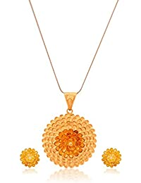 Senco Gold Aura Collection 22k Yellow Gold Jewellery Set