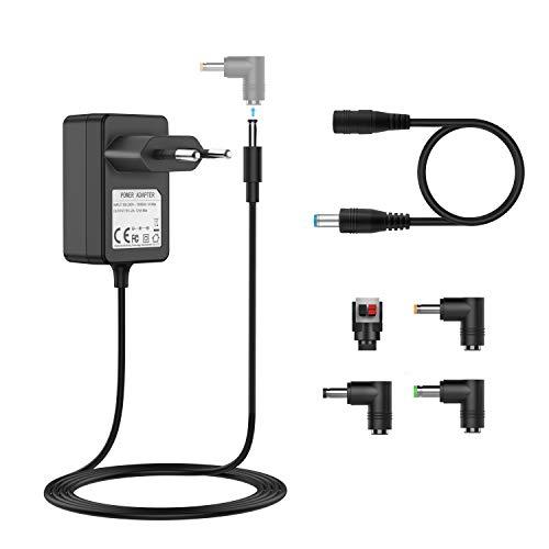 BERLS Bloc d'alimentation Adaptateur Secteur Universel 6V 500mA/1000mA/2A pour OMRON Tensiomètre, Badabulle Confort, Babyphone, Poubelles Automatique, Alarme Domestique, VTech Kidimagic Starlight