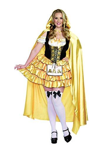 Dreamgirl 9895X Goldilocks Kostüm (3x/4x (Kinder Für Goldilocks Kostüme)