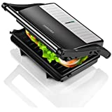 Concord Sandwich Maker/Grill 1000 Watts (with 180° Opening, Oil Drip Tray and1.5 Metre Long Cord))