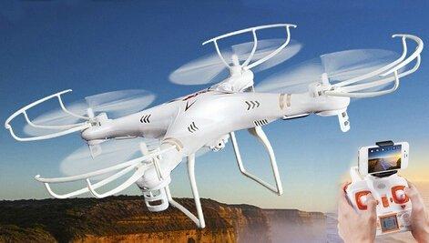 s-idee 01520 Quadrocopter MJX X705C Wifi HD Kamera MJX C4010 in 720p High Definition mit Tonaufzeichnung, 2.4 GHz, 4-Kanal, 6-AXIS Stabilization System - 3