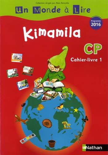 Kimamila CP série rouge : Cahier-livre 1
