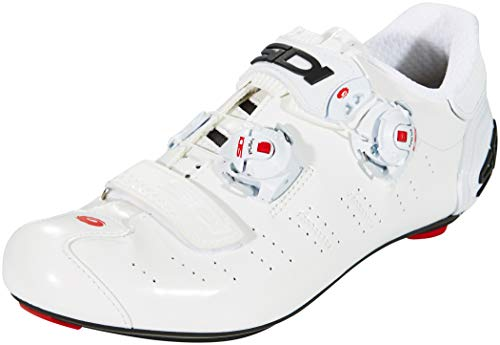 Sidi Ergo 5 Carbon Shoes Men White/White Schuhgröße EU 46,5 2019 Schuhe