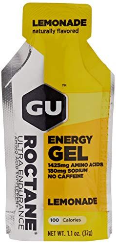 GU Roctane Energy Gel Lemonade no Caffeina box da 24 gel da 32g