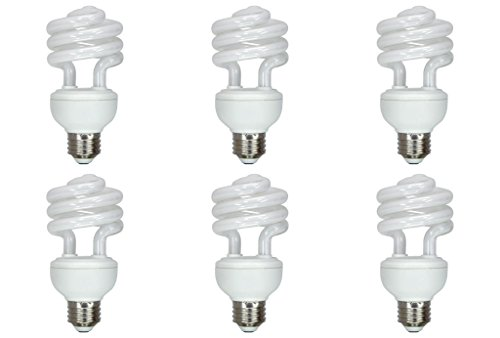 12vmonster 6Pack DC 12Volt 15Watt warm weiß Kompakt Leuchtstofflampe CFL Lampe DC 12V E26E27 -