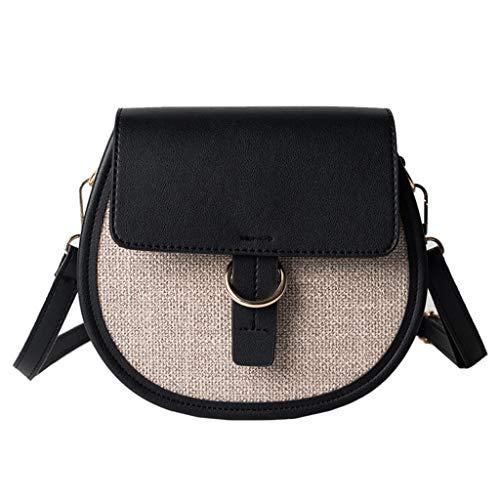 Mitlfuny handbemalte Ledertasche, Schultertasche, Geschenk, Handgefertigte Tasche,Damenmode Patchwork One-Shoulder-Hand kleine Satteltasche -