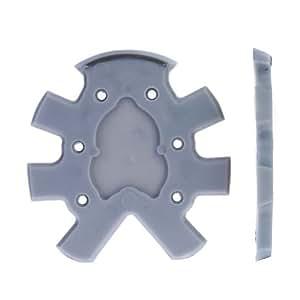 finn-tack PG 6Semelle en plastique, W/orteils Grip, épais