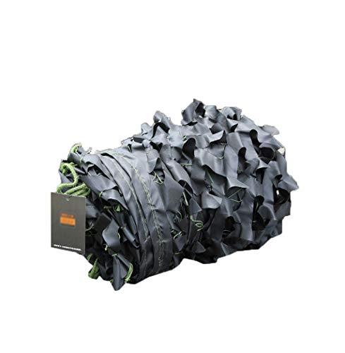 DYFYMXParasol Filet de camouflage de fleurs de coupe unique CP noir Filet d'ombrage à une couche (Couleur : NOIR, taille : 4 * 5m)