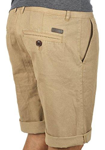 SOLID Viseu Herren Chino-Shorts kurze Hose Business-Shorts aus 100% Baumwolle Dune (5409)