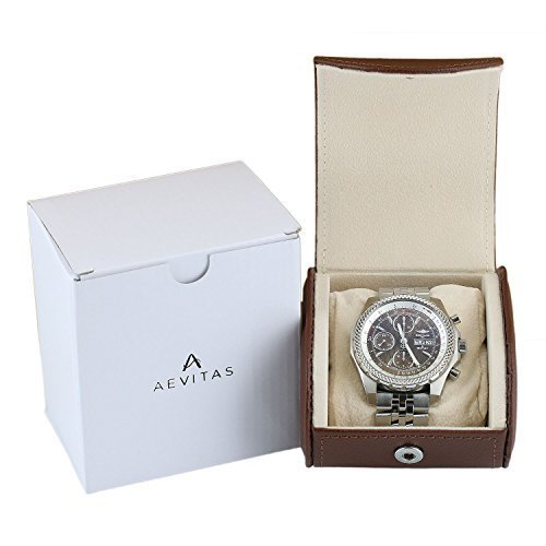 aevitas-qualite-superieure-montre-remontoir-marron-fonce