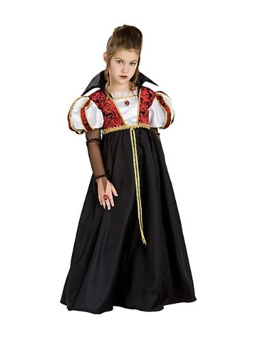 Kinder Royal Vampira Gothic Vampir Kostüm Small 3-4 (Kinder Kostüme Royal Vampir)
