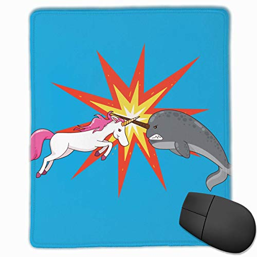 Floral Uniform (Cute Uniforms and Narwhal Office Rectangle Non-Slip Rubber Mouse Pad Comfortable Gaming Mouse Pad for Laptop Displays Tablet Keyboard)