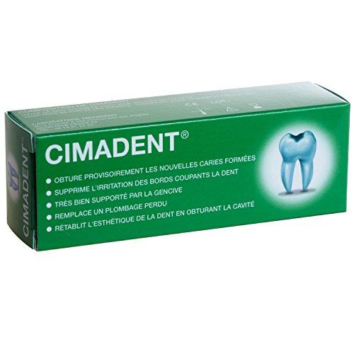 PANSEMENT DENTAIRE CIMADENT pour combler une cavité ou une obturation...