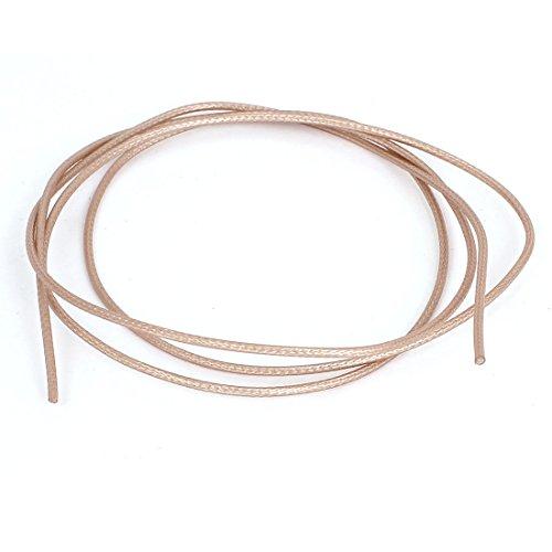Sourcingmap a15060400ux03903.3FT 1M Lang RG178Koax Kabel Low Loss RF-Anschluss Kordel-Gold Ton (1) - Low Loss-anschluss