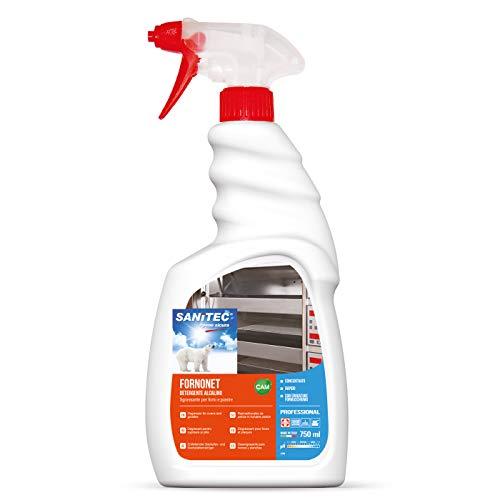 Sanitec Fornonet, Detergente Sgrassante per Forni, Spray 750 ml