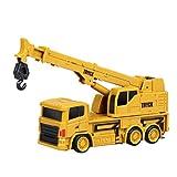 Forweilai 1:64 RC Car Spielzeug Ferngesteuertes Auto Baufahrzeuge für Kinder - (Kran)